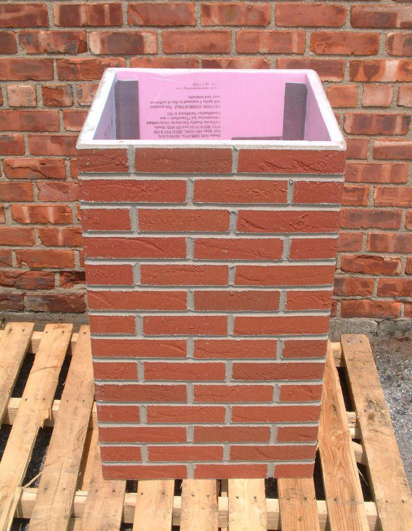 Faux Brick Chimney Pictures To Pin On Pinterest Pinsdaddy